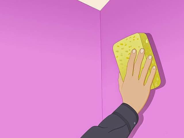 Vệ sinh giấy dán tường