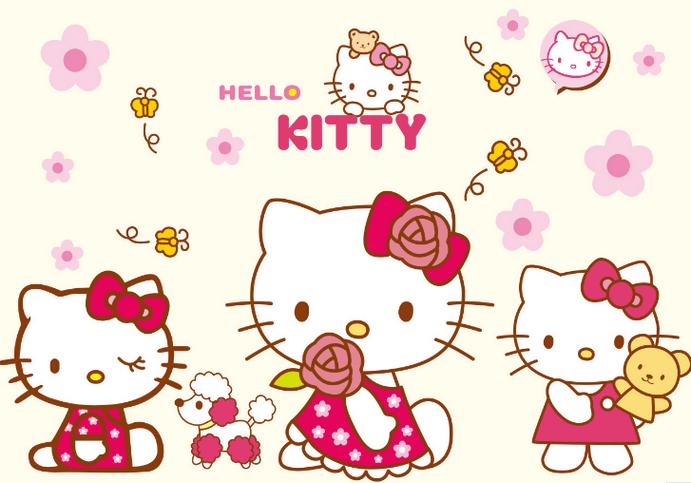 giay-dan-tuong-hello-kitty-gia-re