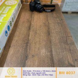 Sàn nhựa giả gỗ dán keo BM8037