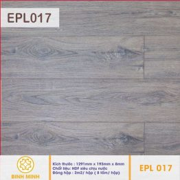 Sàn gỗ EGGER AQUA EPL 017 – 8 ly