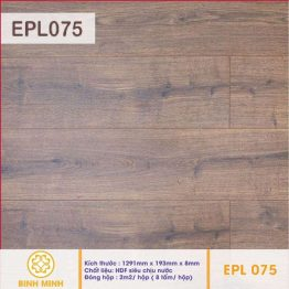 Sàn gỗ EGGER AQUA EPL 075 – 8 ly