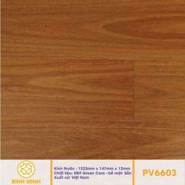 Sàn gỗ Povar cao cấp PV6603 12 ly
