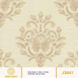 Vải dán tường J3041