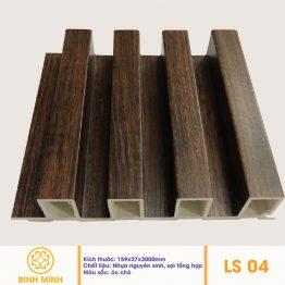 Lam nhựa giả gỗ LS04