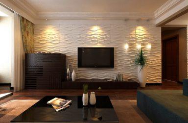Tấm ốp tường 3D sợi thực vật – Nội thất Bình Minh