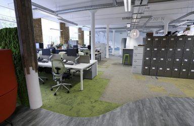 Mang không gian mới đến văn phòng với thảm trải sàn