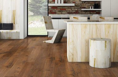 Mách nhỏ bạn cách lắp sàn nhựa giả gỗ cho không gian của mình