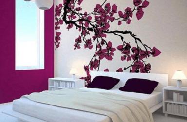 """Chọn giấy dán tường đẹp đà nẵng cho phòng ngủ theo """"tính cách"""""""