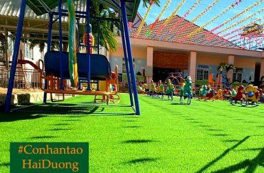 TOP 5 cửa hàng bán và thi công cỏ nhân tạo Hải Dương chất lượng