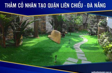 Báo giá thảm cỏ sân vườn, cỏ dán tường giá rẻ tại Liên Chiểu, Đà Nẵng