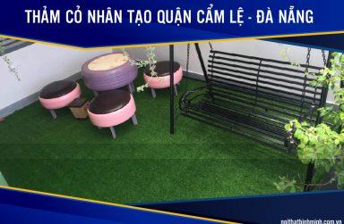 Báo giá thảm cỏ nhân tạo, cỏ sân bóng giá rẻ tại Cẩm Lệ, Đà Nẵng