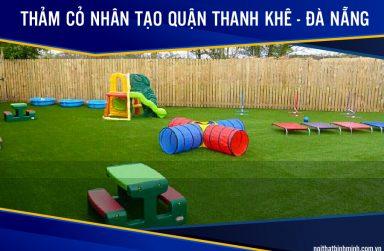Báo giá thảm cỏ nhân tạo, cỏ dán tường đẹp tại Thanh Khê, Đà Nẵng