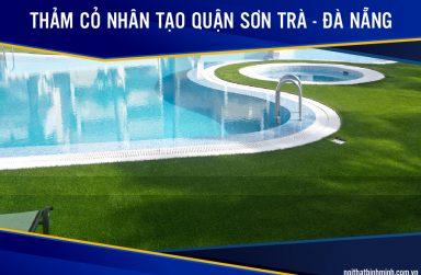 Báo giá cỏ nhân tạo, cỏ sân bóng giá rẻ tại Sơn Trà, Đà Nẵng