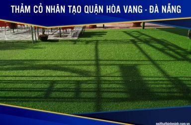 Báo giá cỏ nhân tạo, thảm cỏ dán tường giá rẻ tại Hòa Vang, Đà Nẵng