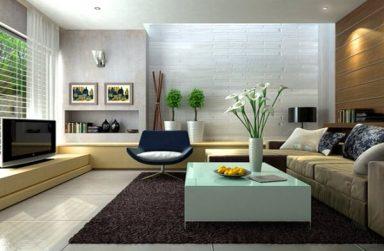 Decor giấy dán tường đón tết cho phòng khách thêm sang trọng