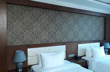 Công Trình Giấy Dán Tường Khách Sạn Lê Hoàng Beach Đà Nẵng