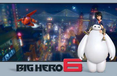 +5 Mẫu giấy dán tườnG Baymax và biệt đội Big Hero siêu đẹp.