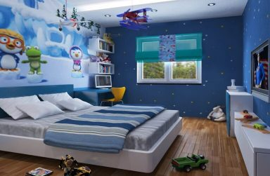 """""""Bí kíp"""" chọn giấy dán tường Đà Nẵng cho phòng ngủ của bé"""