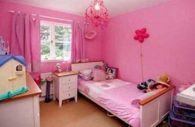 Tips giấy dán tường Đà Nẵng màu hồng cho phòng ngủ bé gái