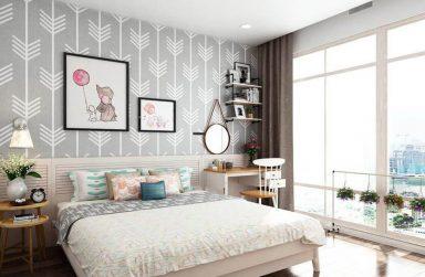 Giấy dán tường đẹp cho phòng ngủ chất lượng cao