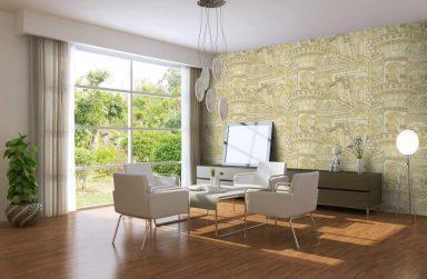 Mang cả thế giới vào ngôi nhà của bạn với giấy dán tường Hàn Quốc 3d