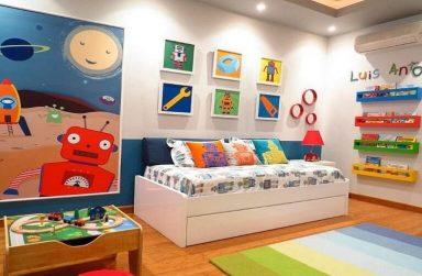 Chọn giấy dán Đà Nẵng cho phòng ngủ bé trai theo độ tuổi