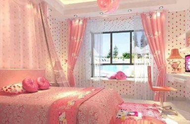 Giấy dán tường phòng ngủ danh cho trẻ em, mẫu đẹp giá rẻ