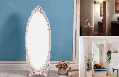 Gương đứng soi toàn thân, gương trang điểm Đà Nẵng mẫu đẹp