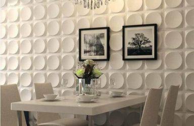 """Mẹo """"hay"""" thay đổi cho tường đẹp với tấm ốp tường 3D Đà Nẵng"""