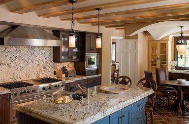 Top những mẫu phòng bếp đẹp nhất từ tấm PVC vân đá