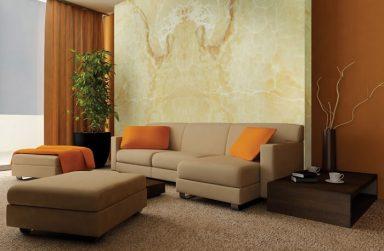 Xu thế nội thất mới cho không gian nhà bạn – Tấm PVC vân đá