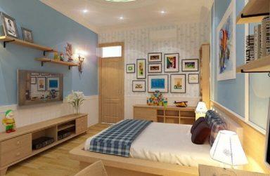 Bí quyết chọn sàn gỗ tại Đà Nẵng cho phòng ngủ trẻ nhỏ