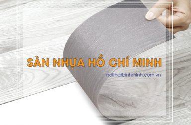 Báo giá sàn nhựa tại Hồ Chí Minh, sàn nhựa dán keo giá rẻ