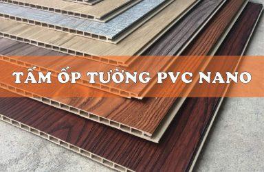 Tấm ốp tường Nano PVC giả gỗ, vật liệu trang trí nội thất mới 2019