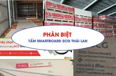 Phân biệt tấm Smartboard SCG Thái Lan chính hãng