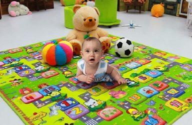 Tại sao phải mua thảm trải sàn cho bé?