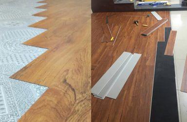 Làm sao để thi công sàn nhựa giả gỗ đẹp, rẻ