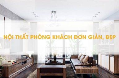 Những mẫu nội thất phòng khách đẹp hiện đại năm 2019