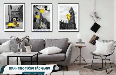 Top +7 cửa hàng tranh treo tường phòng ngủ hiện đại tại Bắc Giang